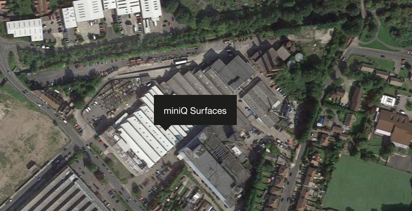 miniQ Surfaces Aerial View